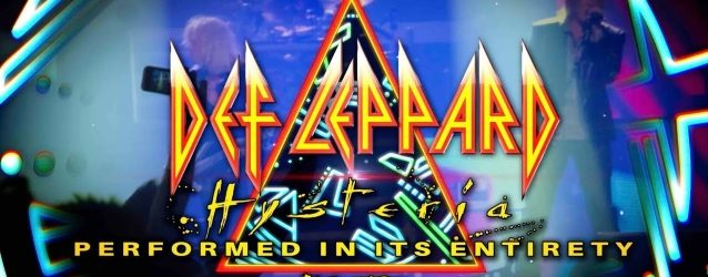 DEF LEPPARD: Video Recap Of 'Hysteria & More' Tour
