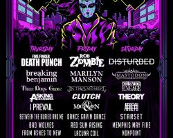 FIVE FINGER DEATH PUNCH, ROB ZOMBIE, DISTURBED, MARILYN MANSON Set For Wisconsin's ROCK USA Festival