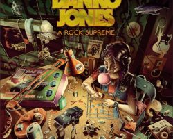 DANKO JONES: Lyric Video For 'I'm In A Band'