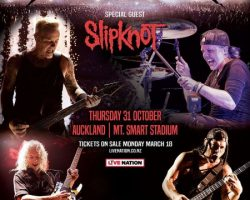 METALLICA And SLIPKNOT Concert In New Zealand Sells Out In 12 Minutes