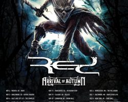 IN FLAMES Announces North American Tour With RED And ARRIVAL OF AUTUMN