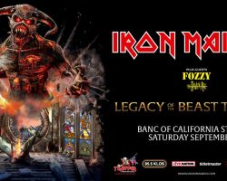 Watch IRON MAIDEN Perform At Banc Of California Stadium In Los Angeles