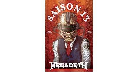 New MEGADETH-Branded Beer 'Saison 13': More Details Revealed