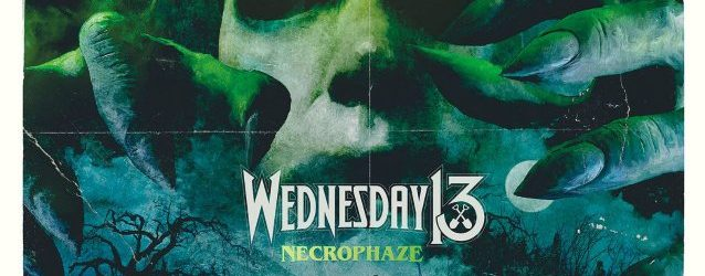 WEDNESDAY 13: Official Visualizer For 'Necrophaze' Title Track Featuring ALICE COOPER