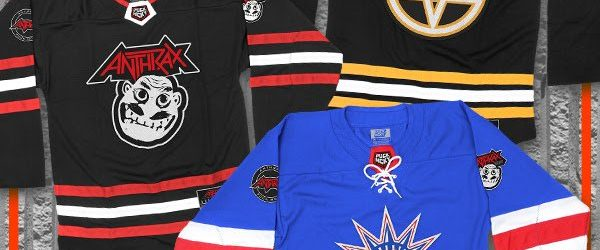 ANTHRAX Joins Forces With PUCK HCKY For Hockey-Inspired Clothing Line