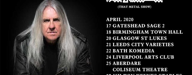 SAXON's BIFF BYFORD Announces First-Ever Solo Tour
