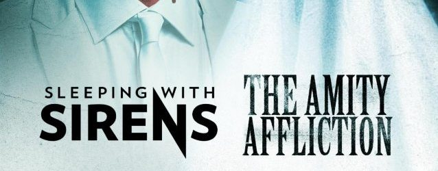 SLEEPING WITH SIRENS Announces Spring 2020 U.S. Co-Headlining Tour With THE AMITY AFFLICTION