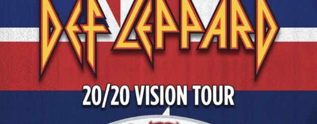 DEF LEPPARD Announces Select Fall '20/20 Vision' Tour Dates With ZZ TOP