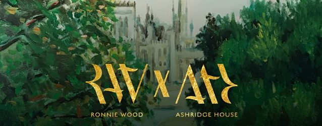 THE ROLLING STONES' RONNIE WOOD To Collaborate With Ashridge House On Unique Art Exhibition