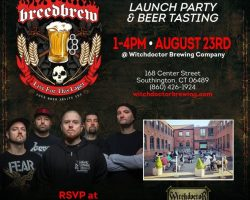 HATEBREED Teams Up With Connecticut's Witchdoctor Brewing Company To Launch 'Live For This' Lager