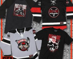 MÖTLEY CRÜE And PUCK HCKY Team Up For Hockey-Themed Collection
