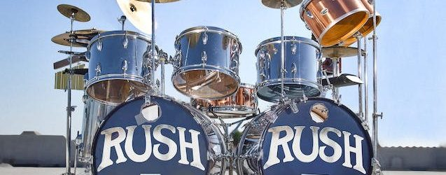 NEIL PEART's RUSH Drum Kit Used From 1974 Until 1977 Is Being Auctioned