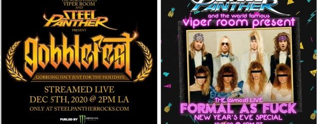 STEEL PANTHER Taps COREY TAYLOR, CHRIS JERICHO And BOBBY BLOTZER For Upcoming Concert Livestreams