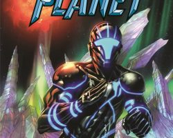 JOE SATRIANI To Release 'Crystal Planet' Comic Book Series
