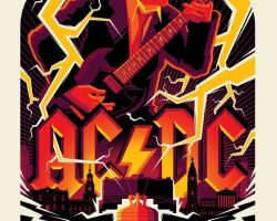 Limited-Edition AC/DC Poster Series To Be Made Available Via ECHO