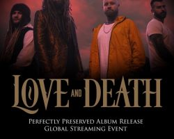 Watch KORN Guitarist BRIAN 'HEAD' WELCH's LOVE AND DEATH Project Perform 'Down' During Livestreamed Concert