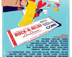 FOO FIGHTERS, PERRY FARRELL, GAVIN ROSSDALE, SAMMY HAGAR To Take Part In 'Rock 'N' Relief: Live Stream' Concert Series