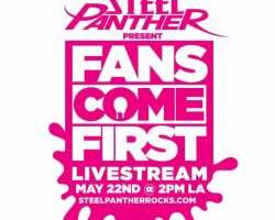 STEEL PANTHER Announces 'Fans Come First' Livestream