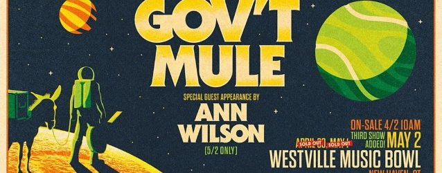 Watch ANN WILSON Perform LED ZEPPELIN Classics With GOV'T MULE In New Haven