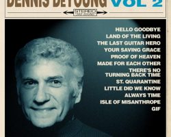 DENNIS DEYOUNG Releases Lyric Video For 'The Last Guitar Hero' Featuring TOM MORELLO