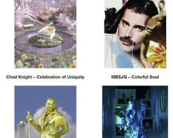 QUEEN: Four New NFT Artworks Celebrating FREDDIE MERCURY's 75th Birthday To Be Made Available