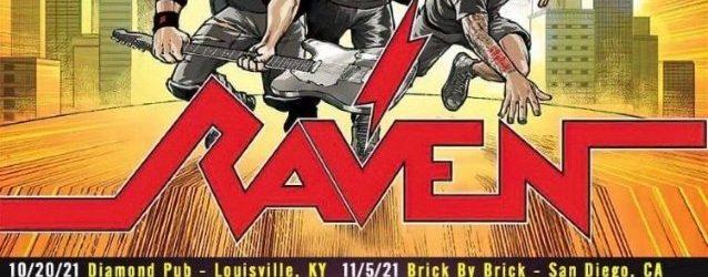 RAVEN Announces 'Metal City' U.S. Tour
