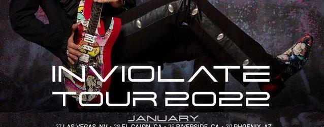 STEVE VAI Announces 54-Date 'Inviolate' 2022 U.S. Tour