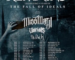 ALL THAT REMAINS Announces 'The Fall Of Ideals' 15th-Anniversary Tour With MISS MAY I, VARIALS, TALLAH